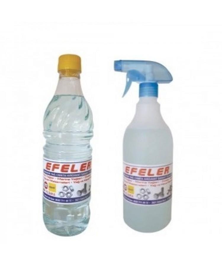 Gaz Yağı Kerosen 1 Litre Pet Şişe ve 1 Litre Sprey Şişe Seyreltilmemiş