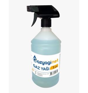 Gaz yağı 1 Lt. Sprey Şişe Gaz Lambası Yağı Gaz Sobası Zift Zincir Temizleyici