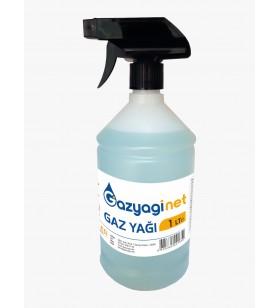 Gaz yağı 1 Litre Sprey Şişe Seyreltilmemiş